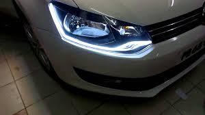 volkswagen polo modification parts volkswagen polo vento custom headlights youtube