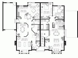 triplex house plans bedrooms house plans 58165