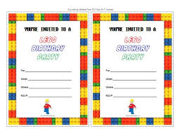 lego birthday invitations free printable allfreeprintable com