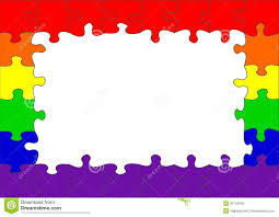 puzzle clipart rainbow pencil and in color puzzle clipart rainbow