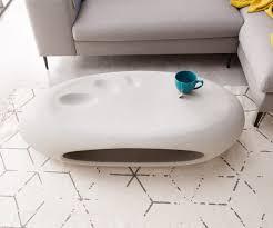 Wohnzimmertisch Betonoptik Couchtisch Rock 135x65 Cm Grau Beton Optik Mit Ablage Möbel Tische