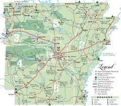 state of arkansas map arkansas state park map arkansas mappery