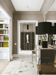 living room neoclassical dining room interior design picture in