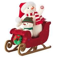 hallmark singing snowman ebay