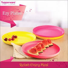 buy tupperware snack plates set of 4 at low prices in india