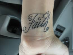 always have faith tattoo on wrist pictures to pin on pinterest