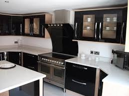 Kitchen Self Design Kitchen Small Kitchen Design Ideas Shiny Black Interior