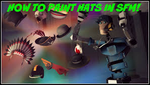 tutorial how to paint hats in sfm youtube