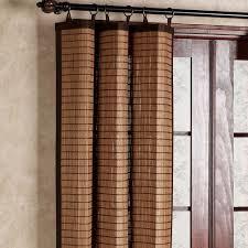 Bamboo Panel Curtains Elizahittman Com Bamboo Curtain Panels Bamboo Ring Top Curtain