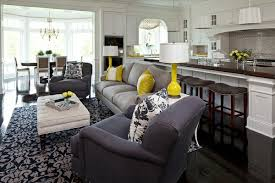 gray color schemes living room living room color scheme gray and yellow interior design ideas