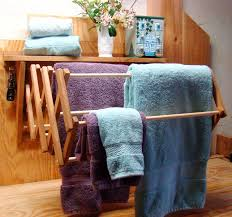 Wooden Wall Mounted Drying Rack Use As A Clothes Drying Rack