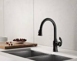 bronze pull kitchen faucet 772 orb rubbed bronze pull kitchen faucet