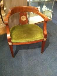 bureau style directoire fauteuil de bureau style directoire en acajou la maison de florence