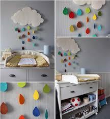 DIY Kids Room Decoration Projects Cute Rainy Clouds Or Sun Umbrellas - Diy kids room decor