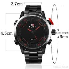 soxy brand watch with quartz movement wristwatches for the