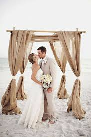 wedding arches decorated with burlap 12 burlap wedding decor ideas burlap wedding and