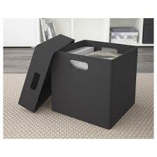 eket box dark grey 31x31x29 cm ikea