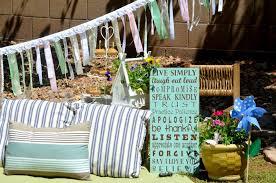 crissy u0027s craft backyard picnic family time my parties