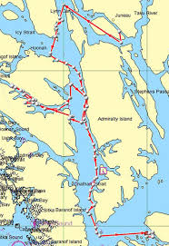 Sitka Alaska Map Noaa Loses Track Of Entangled Whale After Satellite Tracking Buoy