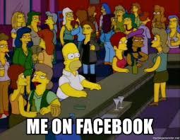 Meme Generator Facebook - me on facebook homer bars meme generator