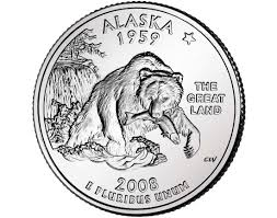 State Series Quarters Collector Map by Image Detail For Alaska State Quarter Collection Alaska