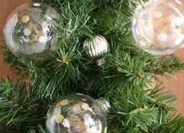 glittered polka dot ornaments diy ornaments