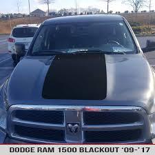 dodge blackout truck blackout vinyl decal for dodge ram 1500 09 17 alphavinyl