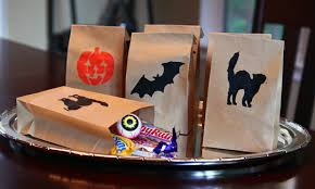 halloween treat bags take time for style
