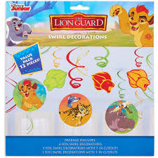 Hanging Party Decorations Lion Guard Hanging Party Decorations Walmart Com