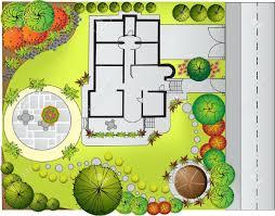 collection landscape garden plan pictures garden and kitchen