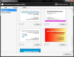 visitenkarten design erstellen visitenkarten software freeware de