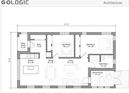 small house floor plans 1000 sq ft 1000 square open floor plan home deco plans
