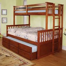Bunk Bed With Trundle Of America Bunk Bed Trundle Sold Separately