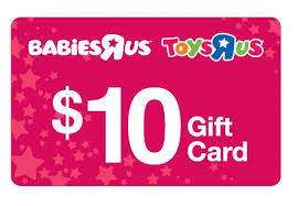 10 gift cards free 10 babies r us gift card if your baby was born in 2013