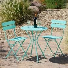 outdoor bistro table and chairs outdoor bistro sets you ll love wayfair