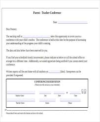 meeting letter templates 9 free sample example format download