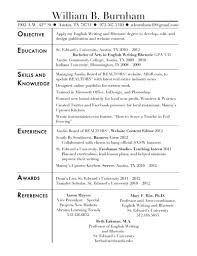 Resume Sample Kitchen by Free Resume Templates Sample For Warehouse Worker Manager With