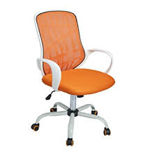 white office chair mesh amazon com greenforest office chair mesh mid back swivel task