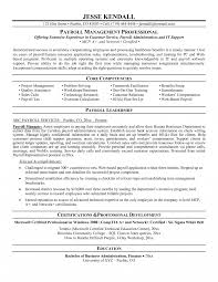 exles of hr resumes payroll officer resume exle sle new format and cv sles