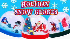 snow globe diy kids craft christmas holiday kids family fun