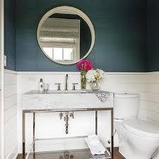 Wainscoting Bathroom Ideas Colors Shiplap Powder Room Design Decor Photos Pictures Ideas