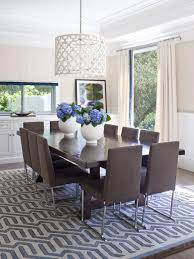 Dining Room Drum Light Photos Hgtv Light Filled Dining Room With Drum Pendant Clipgoo