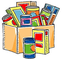 clms canned food drive crews lake middle school