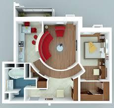 general futuristic modern apartment 1 bedroom apartment house