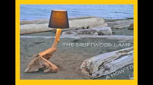 How To Build A Stump by The Driftwood Lamp How To Build A Beach Wood Lamp Youtube