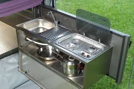 Camper Trailer Kitchen Designs