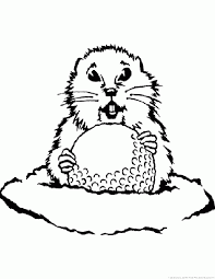 prairie dog coloring page gopher coloring pages
