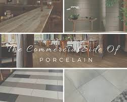 the commercial side of porcelain tile exquisitely simple
