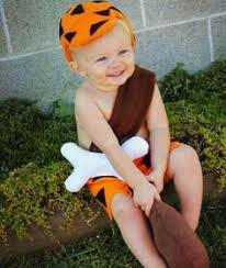 Infant Dalmatian Halloween Costume Baby Bam Bam Costume Middle Plays Halloween Costumes