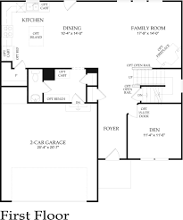Old Pulte Floor Plans by Hickory Ii New Home Plan Florence Nj Centex Home Builders